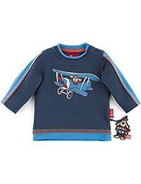 sigikid 146106 Sweatshirt blau Flying Dog, Baby