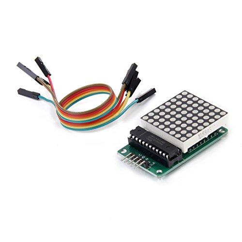 MAX7219 Punkt Matrix Modul MCU Steuerung LED Anzeige DIY Kit für Arduino (Kaskaden Kit)