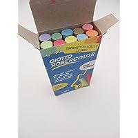 10 Asst Colour Or White Chalk Anti Dust - Blackboard Drawing School Teacher