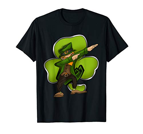 Patricks Day Shirt (Dabbing Leprechaun Tshirt St Patricks Day shirt für)