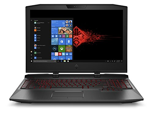 "OMEN by HP OMEN X 17-ap007nl Notebook Gaming, Intel i7-7820HK, SATA da 1 TB & 2 SSD da 512 GB, 32 GB di RAM, GeForce GTX 1080, Display 17,3"" FHD IPS antiriflesso, Nero Ombra"