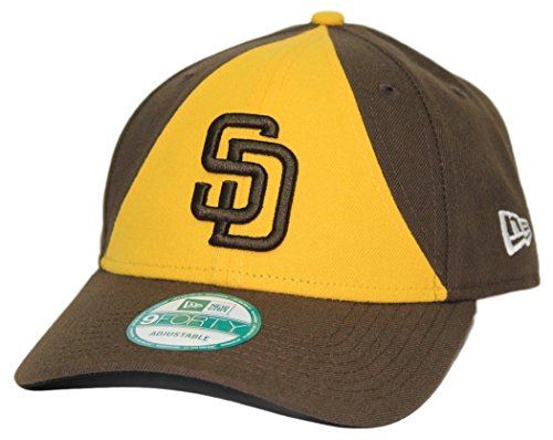 san-diego-padres-new-era-mlb-9forty-the-league-adjustable-hat-cappello-alternate-2