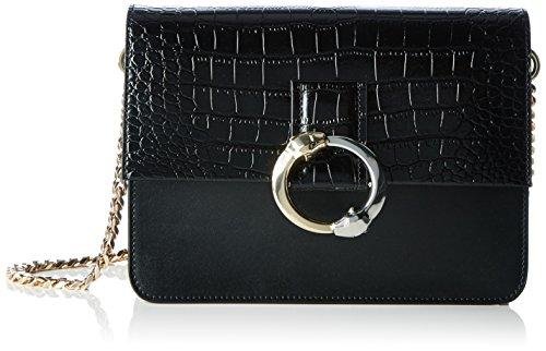 Cavalli - Paris Bag 002, Borsa a spalla Donna Schwarz (Schwarz (Black))