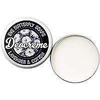 Deocreme Lavender & Cotton - Travel Size 35 g | aluminiumfrei, Duft nach frischer Wäsche, vegan
