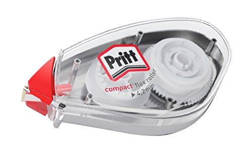 Pritt PCK4B Korrektur Roller mit Schutzkappe 10 m Länge und 4.2 mm Bandbreite