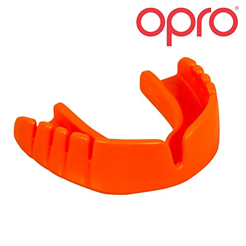 OPRO Snap-Fit Gum Shield No Fitting, No Boiling, No Fuss Junior Mouthguard for Rugby, Hockey, MMA, Boxing, Lacrosse, American Football, Basketball for Kids up to 11 years old - OPRO Mouth Guards are Made in the UK Test