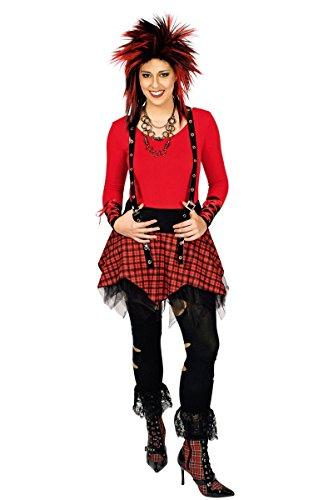 in Punk Lady Rock zu Karneval Fasching Gr.40/42 (Womens Punk-rock-halloween-kostüme)