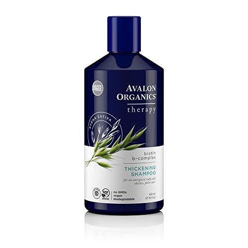 Avalon Organics 473ml biotina B Complejo Champú