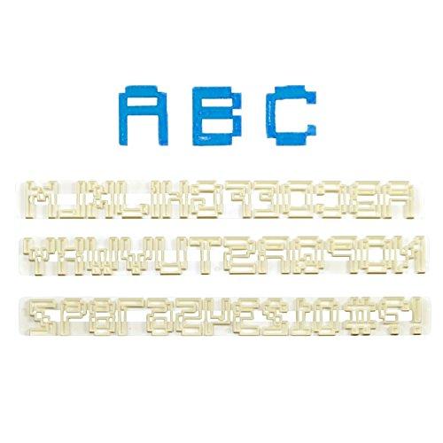 FMM Buchstaben und Zahlen Set Pixel | Pixelschrift | Online Spiel | Videospiel