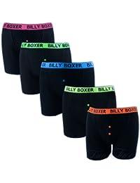 12 pairs neon black Billy boxershorts large