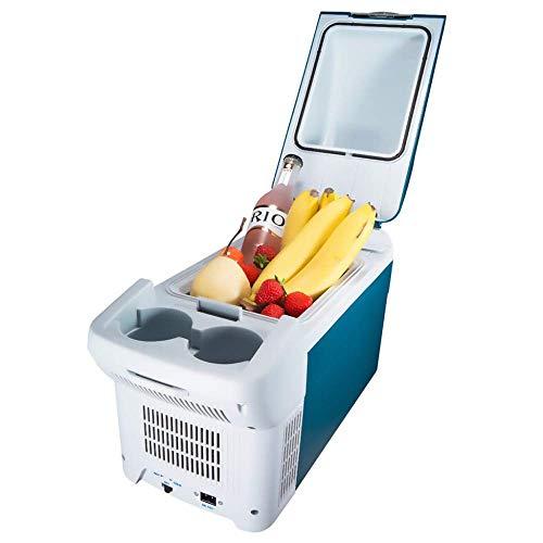 Mini-Kühlschrank 8L Autokühler Kompressor Gefrierschrank-Elektrische Kühlbox 12 V / 24 V / 220-240 V Mini Kühlschränke für Sport im Freien Home Tour Picnic Camping Picknicks Kühlt und hält Lebensmitte - Sport-kühlschrank