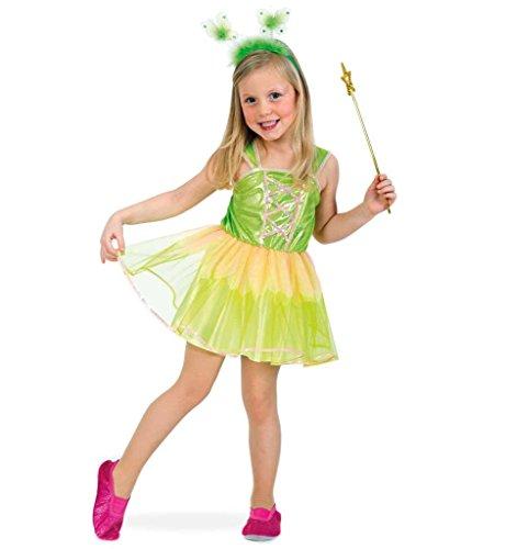 Kinderkostüm Tiny Fairy kleine Elfe Fee Waldelfe zauberhaft märchenhaft Karneval Fasching Gr 104 - 128 - Hellseher Kostüm
