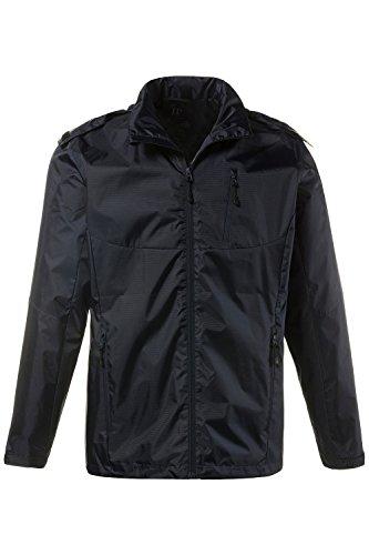 JP 1880 Herren große Größen bis 7 XL | Regenjacke | Funktions-Jacke mit abnehmbarer Kapuze | Outdoor, wasserabweisend & Futter | dunkelmarine 4XL 708442 70-4XL