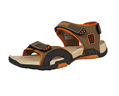 ABS Men Premium S115 Camel Phylon & TPR Casual Outdoor All Season Sandals & Floaters - Size 7