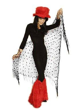 Netz Dreickstuch Tuch für Meerjungfrauen Kostüm und Nixen (Kostüm Seestern)