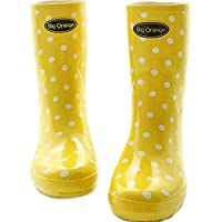DUANGUOYAN Rain boots- Ms. Garden Rain Shoes Female Adult In The Boots Rubber Boots Rain Boots Water Shoes