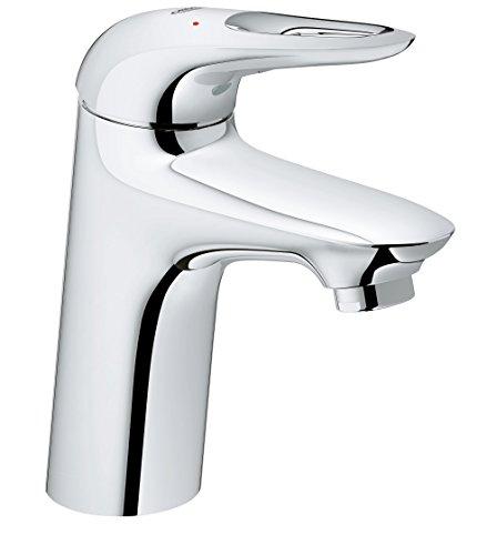 Grohe 2356830l Eurostyle Einhand Waschtischarmatur mit leicht zu reinigen Körper–Chrom