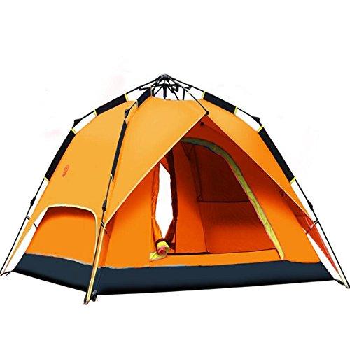 ZC&J Tiendas al aire libre 3-4 personas campamento automático carpas dobles de...