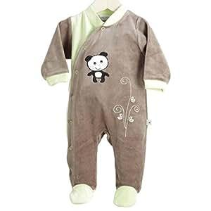 Pyjama naissance miss Panda - Tailles - Naissance