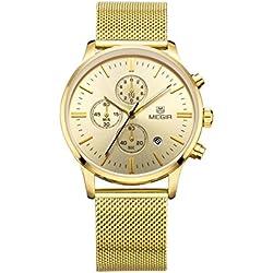 Mann, Quarzuhren , Armbanduhr,Multifunktions, Persönlichkeit, Freizeit,6 Zeiger, Outdoor, Metal, W0514