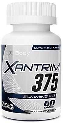 Xantrim® 375 Fat Burners by eBody   Weight Loss Diet Pills   Original Strength Fat Burner (60 Tablets) by eBody®
