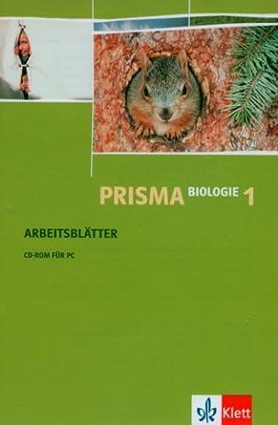 Prisma Biologie, Arbeitsblätter, Tl.1 : Arbeitsblätter, 1 CD-ROM Für Windows 98/2000/XP