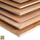 Hardwood Plywood B/BB Grade WBP Exterior Plywood | (1220mm x 1220mm, Thickness: 18mm)
