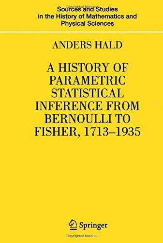 A History of Parametric Statistical Inference from Bernoulli to Fisher, 1713-1935 (Sources and Studies in the History of Mathematics and Physical Sciences) by Anders Hald (2006-12-18) par Anders Hald