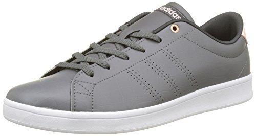 adidas Advantage CL QT W, Scarpe da Ginnastica Basse Donna Grigio (Grey Four/grey Four/utility Black)