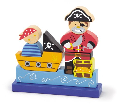 Sapin Malin - Sm50077 - Puzzle 3D - Pirate Magnétique