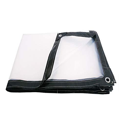 GUHAIBO-Telo-Trasparente-con-Occhielli-Copertura-Impermeabile-Impermeabile-Telone-Telo-antistrappo-Impermeabile-Teli-Impermeabili-Molte-Taglie