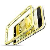 CE-LINK Coque iPhone 6S Plus Coque iPhone 6 Plus Bumper, Antichocs Souple [Bords de Protection surélevés], Housse Etui de Protection, [Pas de Plaque arrière] Anti-égratignures Solide Cover - Jaune