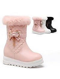 Winter Warme Anti-Ski-Stiefel/Innere Erhöhung Stiefel/Dicken Boden Plus Samt Student Stiefel/Baumwolle Schuhe 34-43 Damen Schuhe & Handtaschen Damenstiefel