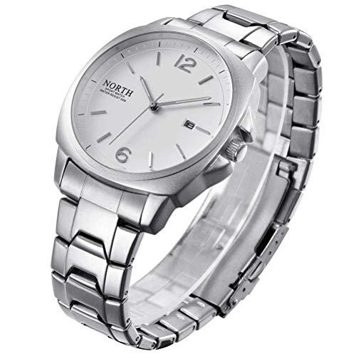 xisnhis schöne Uhren auf männer - Mode an Quarz - Uhr männer - gürtel auf hochwertigen Quarz - Uhr männer doppel - Kalender sehen männer gucken