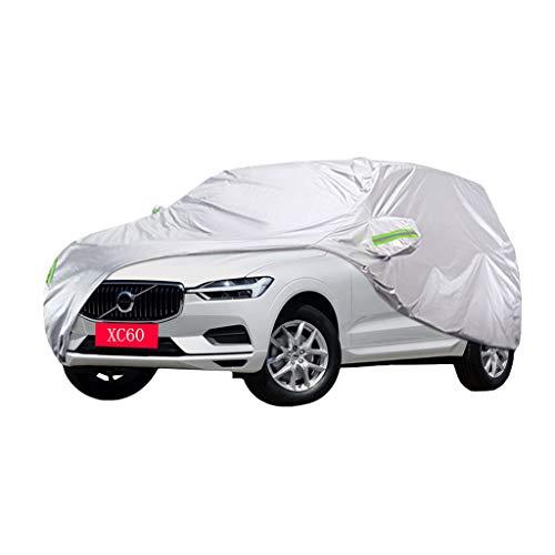 Autoabdeckung Volvo XC60 Autoabdeckung SUV Dicker Oxford-Stoff Sonnenschutz Regendicht Warme Abdeckung Autoabdeckung (größe : 2019)
