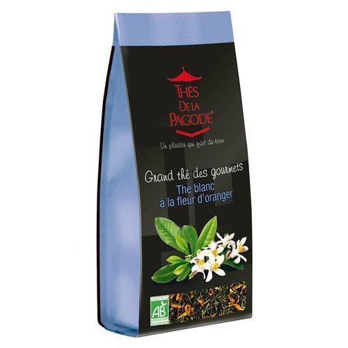 Thes De La Pagode - Gourmet Teas - Thes a la Fleur D'Oranger - 110g (Case of 20)