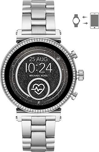 8c2cba0cdccf Michael Kors Reloj Mujer de Digital con Correa en Acero Inoxidable MKT5061