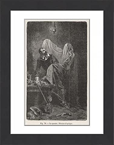 Framed Print Of Ghost Illusion 1 Of 2