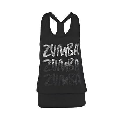 Zumba Fitness Damen Tank Top Radius Bubble