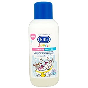 E45 Dermatological Junior Foaming Bath Milk, 500ml