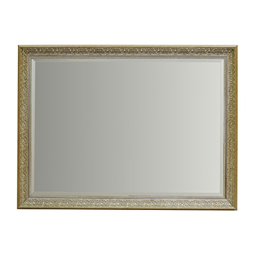 ENKI espejo rectangular para pared diseño vintage glamoroso 915 x 745 mm BELLE