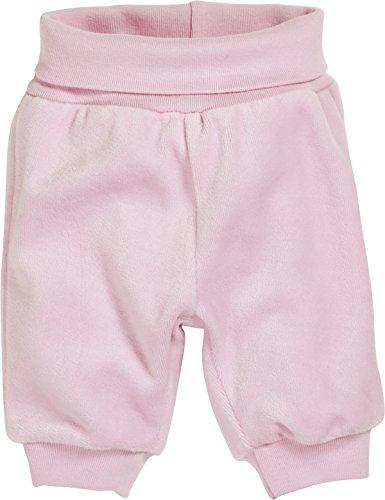 Schnizler Baby-Mädchen Nicki Babyhose, Jogginghose Mit Elastischem Bauchumschlag, Oeko-tex Standard 100 Hose, Rosa (rose 14), Frühchen (Herstellergröße: 44)