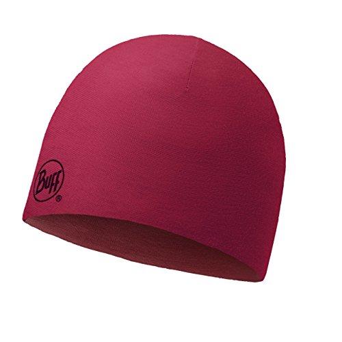 Buff Merino Wolle mit Kopfbedeckungen L - ROT ( Reversiblegrana) -