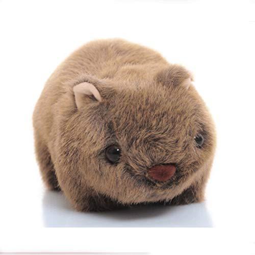 Qiaoxianpo01 Plüschtiere, kleine Maus Maus Fett Hamster Meerschweinchen Spielzeug, realistische Mode Plüsch Puppe Spielzeug (erhältlich in Einer Vielzahl von Größen) (Color : Grey, Size : 17 * 10cm) -