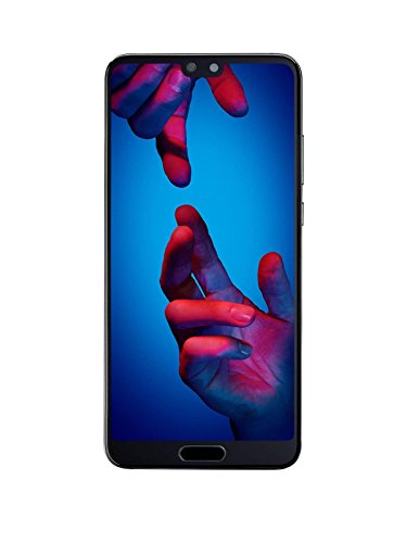 "Huawei P20 Single SIM 4G 128GB Black - Smartphones (14.7 cm (5.8""), 128 GB, 12 MP, Android, 8.1, Black)"