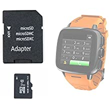 DURAGADGET Tarjeta de memoria para reloj Intex IRist - WatchPhone - micro SD HC 16 GB + adaptador