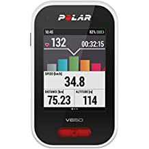 Polar V650 Ciclocomputador para Bicicleta con GPS, Unisex Adulto, Blanco, Talla Única