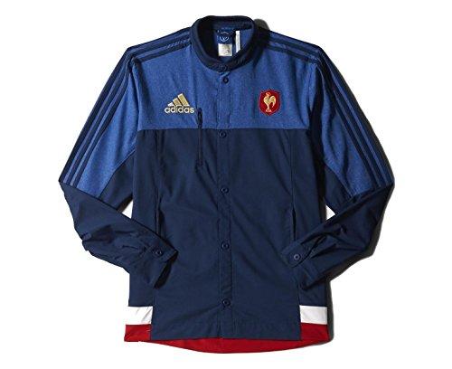 France 2014/15 Rugby Anthem Jacket Blue