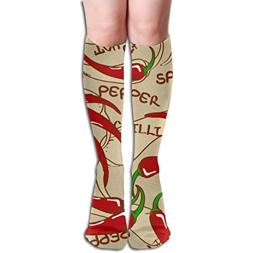 s Compression Socks Men & Women Running, Athletic Sports - Below Knee High ()