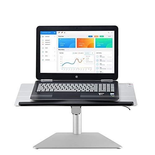 Workstation Riser (FJIE Einstellbare Laptop-Bett-Tabelle, Tragbare Laptop-Workstation Notebook Stand Lesehalter, Riser for PC-Bildschirm, Tastatur, Laptop)